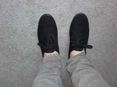 New Victoria black oxford lace plimsolls. (eurimcoplimsoll) Tags: