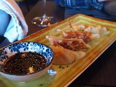 Gyosas (rgrant_97) Tags: coimbra portugal lunch japaneserestaurant shari food sushi olympus