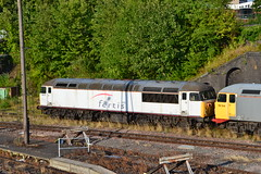 UKRL 56018 & 56104 (Will Swain) Tags: leicester station 2nd august 2018 class 56 train trains rail railway railways transport travel uk britain vehicle vehicles england english europe ukrl 56018 56104 018 18 104