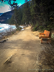 A Place To Understand (Saved by Grace (100% God, 0% Me)) Tags: calgary lakelouise water green blue sky tour travel god creation beauty landscape johnninetwentyfive canada mountains outdoors outside ice winter cold