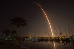 SpaceX Launch with Crew Dragon Demo Mission-1 3/2/2019 (stargazerpearce) Tags: spacex elonmusk falcon9 block5 ccafs rocket nasa kennedyspacecenter ksc 45thspacewing cape canaveral falcon elon kennedy space capecanaveralairforcestation capecanaveral exploreksc dm1 crewdragon lc39