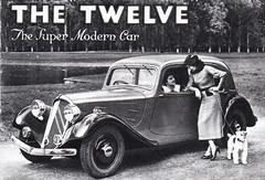 The Twelve...The Super Modern Car (in 1935!) (andreboeni) Tags: classic car automobile cars automobiles voitures autos automobili classique voiture rétro retro auto oldtimer klassik classica classico citroen 7cv twelve 12hp light15 traction tractionavant publicity advert advertising advertisement citroën