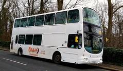 Huddersfield (Andrew Stopford) Tags: lj53bey volvo b7tl wright eclipse bhtravel huddersfield arriva