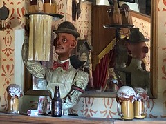 Bonnie Springs, Red Rock Canyon (jericl cat) Tags: shooting gallery shootn closed broken cowboy showgirl animatronic bonnie springs ranch redrock canyon desert oldnevada attraction roadside park theme red rock western land