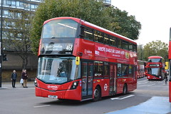 Arriva London HV293 LK17AMV (Will Swain) Tags: elephant castle 4th october 2018 london greater city centre capital south bus buses transport travel uk britain vehicle vehicles county country england english arriva hv293 lk17amv 293