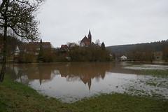 SK_2019-03-15_1060048 (Stephan_66) Tags: hochwasser eschachtal eschach überschwemmung kircheinhorgen kirchestmartin kirche bach