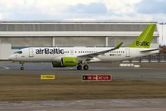 IMG_4655@L6 (Logan-26) Tags: airbus a220300 ylaap msn 55051 air baltic brand new riga international rix evra latvia airport aleksandrs čubikins 1st first