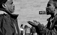 You have got to be joking!! (Baz 120) Tags: candid candidstreet candidportrait city contrast street streetphotography streetphoto streetcandid streetportrait strangers rome roma ricohgrii europe women monochrome monotone mono noiretblanc bw blackandwhite urban life portrait people italy italia grittystreetphotography faces decisivemoment