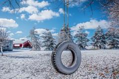 Tire Swing Snow Day (markburkhardt) Tags: supershot