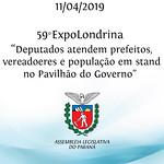 Atendimento no Pavilhão do Governo na 59° ExpoLondrina