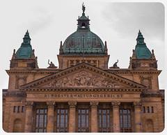 Leipzig, Deutschland Supreme Court (nickyt739) Tags: leipzig deutschland germany supreme court architecture dramatic european europe cit dome green orange symmetry nikon dslr fx d750 travel explore capture
