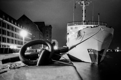 (To Whom This May Concern) Tags: kodakfilm kodaktrix streetphotography urbanphotography olympus olympusxa filmphotography yacht analogue 35mmfilm nightphotography pushedfilm blackandwhite blackandwhitephotography