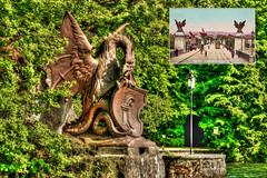 The missing Basilisk - Der verschollene Basilisk ©twe2009☼ (theWolfsEye☼) Tags: thewolfseye basilisk basel baselstadt wettsteinbrücke meggen vierwaldstättersee luzern rippertschwand basilisken skulpturen sculptures ferdinandschlöth harzgrabenbrücke baslerbasilisken