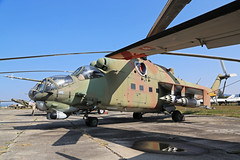 0786 Mil Mi-24V Hind Slovakian Air Force Piestany 31st August 2018 (michael_hibbins) Tags: 0786 mil mi24v hind slovakian air force piestany 31st august 2018 aeroplane aviation aircraft aerospace airplane aero museum historic history classic retro stored storage plane planes helicopter heli helicopters helis rotor rotors prop props blade blades military exmilitary