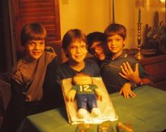 Brent's 12th Birthday (Stabbur's Master) Tags: birthday birthdayparty birthdaycake birthdaypresents 1980sbirthday 1986birthday kidsbirthdayparty kidsbirthday childsbirthdayparty