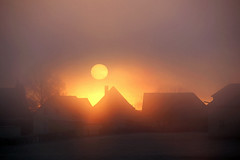 Sonnenaufgang IMG_3760 (pappleany) Tags: pappleany sonnenaufgang nebel landschaft winter sunrise fog landscape franken frankonia bayern bavaria deutschland germany
