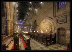 Chancel Choir (veggiesosage) Tags: stmarydecastro church leicester leicestershire normanchurch romanesque