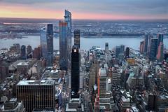 NYC - West Midtown Manhattan  # 025 (ricardocarmonafdez) Tags: newyork manhattan midtown garment ciudad city cityscape buildings skyscraper rascacielos arquitectura architecture sunset calles streets nikon d850 24120f4gvr ricardocarmonafdez ricardojcf abigfave