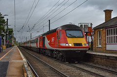43308 + 43302 - Foxton - 13/01/19. (TRphotography04) Tags: london northeastern railways lner hst 43308 43302 pass through foxton working diverted 1e09 0930 edinburgh kings cross