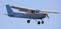 Cessna FA152 Aerobat G-WACU Lee on Solent Airfield 2019 (SupaSmokey) Tags: 2019 cessna fa152 aerobat gwacu lee solent airfield
