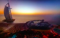 Dubai (albaghira (on-off)) Tags: dubai sunset arabie sea
