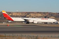 EC-IOB A340-642 Iberia (eigjb) Tags: lemd madrid airport barajas aeropuerto international espana spain jet transport aviation plane spotting aircraft airplane airliner aeroplane 2019 eciob a340642 iberia a340 airbus