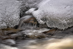 (Dan Fleury Photos) Tags: details landscape a7iii alpha sony cans2s cottage canada ontario bracebridge highfalls rock ice snow winter waterfall creek river water