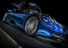 HUAYRA (Dave GRR) Tags: pagani huayra supercar hypercar sportscar racingcar luxurycar rims blue olympus toronto auto show 2018