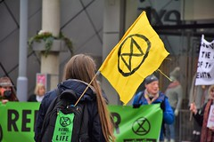Extinction Rebellion - Rebel for Life (Bury Gardener) Tags: burystedmunds suffolk england eastanglia europe uk people peoplewatching folks nikond7200 nikon streetphotography street streetcandids snaps strangers candid candids 2019 britain arc thearc