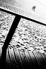 Summer Of Love (rui emanuel correia) Tags: summer love rui correia bw black white beach mood portugal film analogue kodak project