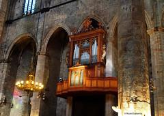 2739  Detalle de Santa María del Mar, Barcelona (Ricard Gabarrús) Tags: iglesia catedral ermita edificio arquitectura organo armonio musica columnas santamaríadelmar ricardgabarrus olympus ricgaba