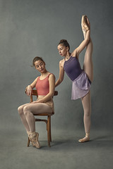 La Danza - Paula&Maria (jmsoler) Tags: ballet 2018 zaragoaza estudio bailarinas ballerinas
