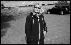 """Let´s go home..."" (iEagle2) Tags: woman wife sweden ehefrau female femme frau blackandwhite blackwhite bw bmw120 bmw autumn"