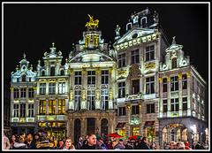 Paseando por Bélgica (edomingo) Tags: edomingo olympusomdem5 mzuiko1240 bélgica bruselas grandplace arquitectura nocturnas paisesbajos