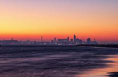 River Mersey Sunrise (gmorriswk) Tags: merseyside england unitedkingdom gb sunrise long exposure river mersey three graces seascape landscape cityscape