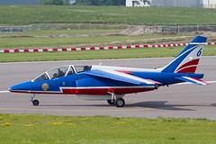 Alpha Jet E98 F-TEMF 6 PdF (spbullimore) Tags: airport cambridge 2018 lair armee force air french france epaa 20300 patrouille de dassault alpha jet e e98 ftemf 6