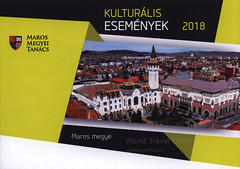 Maros megye Kulturális Események 2018, Transylvania, Romania, travel brochure (hungarian lang.) (World Travel library - The Collection) Tags: marosmegye murescounty 2018 historical architecture building transylvania romania travelbrochurefrontcover frontcover brochure worldtravellibrary worldtravellib holidays tourism trip touristik touristisch vacation countries papers prospekt catalogue katalog photos photo photography picture image collectible collectors collection sammlung recueil collezione assortimento colección ads gallery galeria touristische documents dokument broschyr esite catálogo folheto folleto брошюра broşür