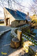 M4_28355 (3.3 mil views - Thank you all.) Tags: machynlleth wales unitedkingdom gb uk dyfifurnace staneastwood stanleyeastwood river furnace building waterwheel waterfall water wood copse