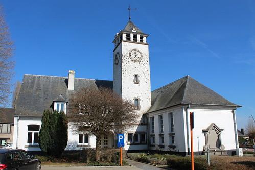 Gemeentehuis, Vlezenbeek