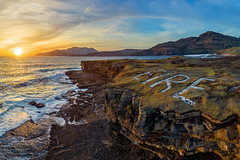 """Muckross Head"" (Gareth Wray - 12 Million Views, Thank You) Tags: sea ocean coast strand beach seascape scape county donegal muckros muckross headland marker sunset pano ww2 ireland 2019 sturrall ridge head castle land irish rocks award nature natural horizon tourist pool pools cliffs dji phantom four 4 pro p4p quadcopter drone uav scenic sand waves atlantic summer visit cliffscape gareth wray way vacation holiday europe beyond lookout wild cliff landscape shore mountain slieve league rock formation hill bay water sky"