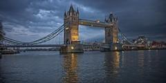 London. Tower Bridge. Evening. (Al Sanin) Tags: london gb greatbritain towerbridge alsanin