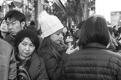 CROWED STREET OF HARAJUKU (ajpscs (Happy 2019)) Tags: ©ajpscs ajpscs 2019 japan nippon 日本 japanese 東京 tokyo city people ニコン nikon d750 tokyostreetphotography streetphotography street night nightshot tokyonight nightphotography strangers urbannight attheendoftheday urban walksoflife tokyoscene anotherday monochromatic grayscale monokuro blackwhite blkwht bw blancoynegro blackandwhite monochrome crowdedstreetofharajuku icecream icecreamcone