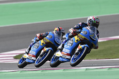 Ryusei Yamanaka - Alonso López. Qatar GP 2019