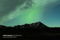 Northern lights over Iceland 19.11.18 (Naomi Rahim (thanks for 4.7 million visits)) Tags: aurora northernlights astrophotography night sky green auroraborealis myvatn iceland nikon nikond7200 travel travelphotography wanderlust black mountain silhouette snow 2470mm