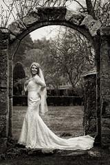 Aswanley (Szmytke) Tags: scotland wedding bride dress long sleeves aswanley aberdeenshire glass huntly arch venue blonde bridal
