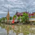 Wat Chulamanee in Amphawa in Samut Songkhram province, Thailand thumbnail