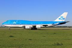 KLM - Royal Dutch Airlines  Boeing 747-406(M) PH-BFU (widebodies) Tags: amsterdam ams eham widebody widebodies plane aircraft flughafen airport flugzeug flugzeugbilder klm royal dutch airlines boeing 747406m phbfu