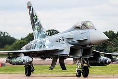 Eurofighter EF2000 30+29 (MichaelHind) Tags: german air forceluftwaffe taktisches luftwaffengeschwader 74tlg74 neuburg ab riat 2016 raf fairford eurofighter ef2000 3029 luftwaffe germanairforce royalinternationalairtattoo raffairford airshow aviation