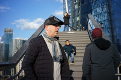 Coming and Going (dtanist) Tags: nyc newyork newyorkcity new york city sony a7 7artisans 35mm vessel public space hudson yards stairs visitors tourists
