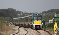 Irish Rail ICR Sets 30 + 9 in Castlerea. (Fred Dean Jnr) Tags: irishrail icr 22030 22009 castlerea castlereastationroscommon roscommon april2019 iarnrodeireann rotem intercityrailcar railcar midlandgreatwesternrailway mgwr